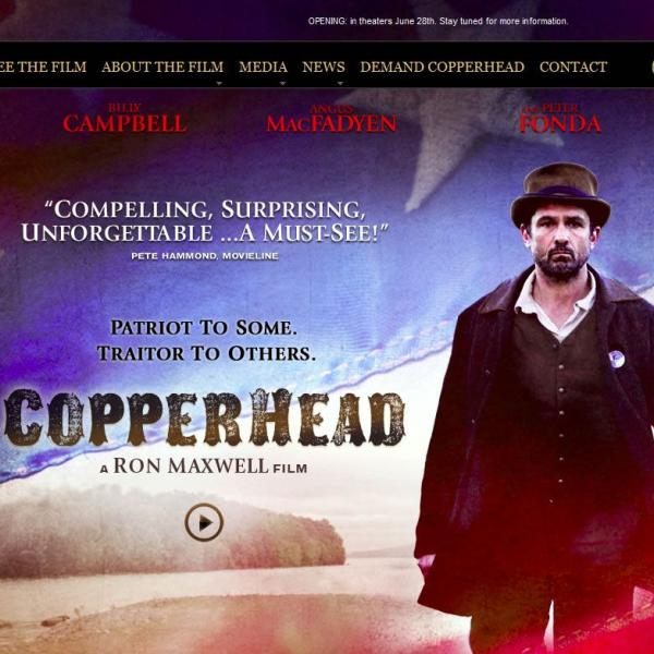 Copperhead - oficial movie page