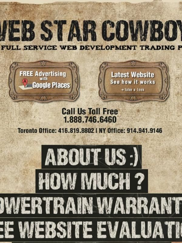 Web Star Cowboys